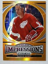 13/14 Panini Prizm Endless Impressions ORANGE Gordie Howe EI-1 Detroit Redwings