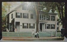 1910 Postcard Whittier'S Home Friend Street Published By Palmers 5&10 Store