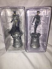 DC Superhero Chess Pieces - Batman & Catwoman - Eaglemoss
