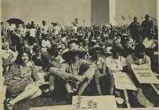 "USA, Washington, Poor's People ""Solidarity Day""  Vintage .  Tirage arge"