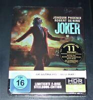 Joker Joaquin Phoenix 4K Ultra HD blu ray + Limitée steelbook Neuf