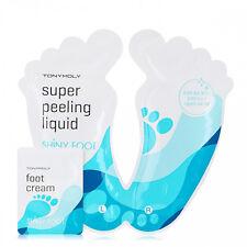 Tonymoly - Shiny Foot Super Peeling Liquid 25ml*2ea / Gift Sample Foot Cream