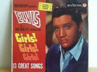ELVIS    PRESLEY              LP        GIRLS ! GIRLS !  GIRLS !
