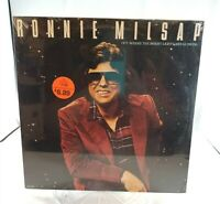 RONNIE MILSAP - OUT WHERE THE BRIGHT LIGHTS ARE GLOWING - [VINYL LP, 1981] ~NOS~