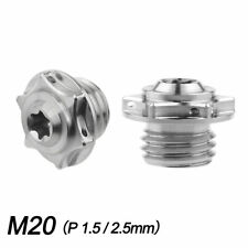 M20 Titanium Bolts Honda Motorcycle Cnc Engine Cover Injection Oil Hole Screws