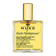 NUXE Huile Prodigieuse Multi-Usage Dry Oil (Face, Body and Hair) 3.3oz 100ml NEW