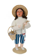2016 Byers Choice Nautical Seabrina the Witch Exclusive Caroler Signed J Byers