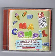 CD (NEUF) MA COMPIL DES ENFANTS (HENRI DES / AMULETTE)