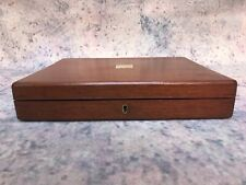 Antique set of steak knives And Forks In Original Mahogany Box