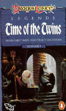 Time of the Twins by Tracy Hickman, Margaret Weis (Paperback, 1987)