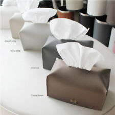 Faux leather Tissue box cover Tissue Case Holder tissue paper rectangle