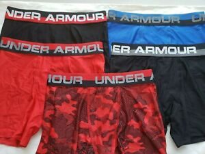 Under Armour Boys Original Series Boxerjock Briefs.Lot of 5 Pack. Size-YMD 10-12