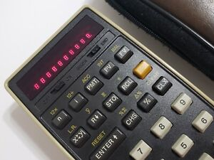 HP 22 Hewlett Packard Calculator in excellent condition