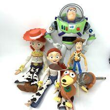 Toy Story Figures Bundle Woody Jessie Buzz Lightyear Slinky Dog Disney Thinkway
