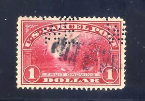 US Stamps - #Q12 - USED -  $1   Parcel Post Issue - CV  $40