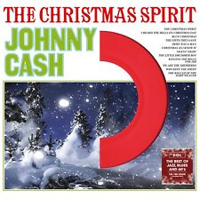 Johnny Cash - The Christmas Spirit - NEW SEALED LP on Colored vinyl