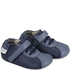 NIP ROBEEZ Mini Shoez ShoesLil Sport H&L Navy Blue 3-6m 1.5 2