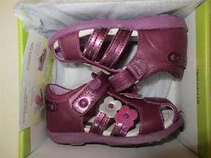 BEEKO TODDLER GIRLS PINK LILAC SANDALS shoes US Size 7 -EUROPEAN SIZE 23 (#143 )