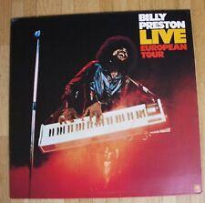 BILLY PRESTON Live European Tour LP/GER/FOC