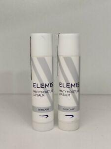 Elemis Minty Moisture Lip Balm 4g X 2 Dry Chapped Lips New & Sealed Long Expiry