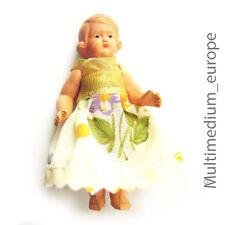altes  Püppchen Schildkröt celluloid 50er Jahre doll Puppe Original