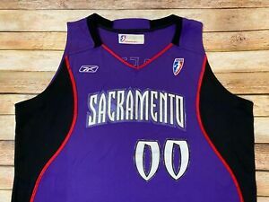 Authentic SACRAMENTO MONARCHS Jersey La'Keshia Frett 2003 WNBA Reebok TEAM ISSUE