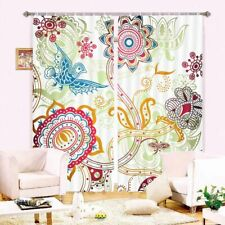 Pitaya Size Light Line 3D Curtain Blockout Photo Printing Curtains Drape Fabric