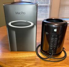 Apple Mac Pro 2013 6-Core 3.5GHz 32GB RAM 512GB SSD 2GB AMD FirePro D300 Mojave