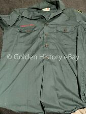 More details for vintage genuine bsa boy scouts america north illonois council - leader top shirt