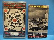 Red Hot Chili Peppers Tape LOT Blood Sugar Sex Magik & Under The Bridge Flea