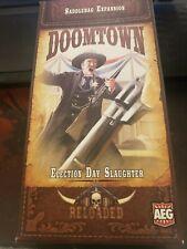 Doomtown Reloaded Saddlebag Expansion: Election Day Slaughter