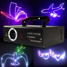 RGB 500mW DMX ILDA Animation Bühnenbeleuchtung Showlaser Lasereffekt SD 13&25CH