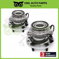 2 Front Wheel Bearing Hub 95-02 Chevy Astro GMC Safari Van AWD 4.3L 5Lug 515019