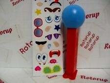 PEZ Exclusive to the PEZ Visitor Center in Orange, CT blue ball with stickers