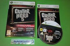 GUITAR HERO 5 V XBOX 360 MICROSOFT PAL COMPLET