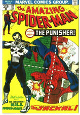 Amazing Spiderman 129 Custom Made Cover REPRINT 1ST Punisher