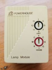 Bsr X10-Powerhouse Indoor Lamp Module: 2-prong, Remote On/Off Model Lm465 Ivory