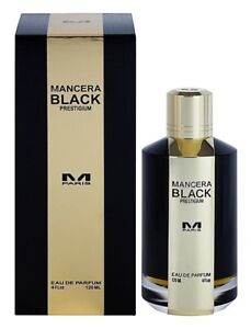 Mancera BLACK PRESTIGIUM Unisex 120 ML, 4 fl.oz, EDP,100% authentic sealed box.
