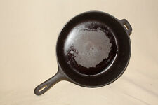 No. 8 10 1/2 IN. CAST IRON CHICKEN FRYER PAN POSSIBLY LODGE 8260