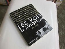 LES VOIX D'AVIGNON...TACKELS, BRUNO....avec CD..
