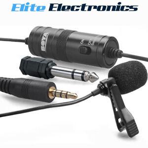 Boya BY-M1 3.5mmTRRS TRS Lavalier Microphone