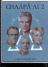 "Stargate SG1 Fanzine ""Chaapa'ai 2"" GEN"
