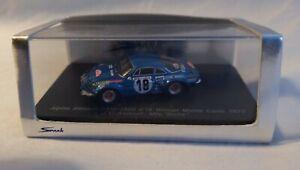 Spark 1/87 Scale 87S101 A110 Alpine Renault 1800cc Monte Carlo 1973 Boxed RARE