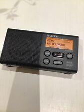 SONY XDR-P1DBP DAB+ POCKET DIGITAL RADIO
