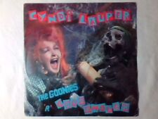 "CYNDI LAUPER The goonies 'r' good enough 7"" ITALY COLONNA SONORA RARISSIMO"