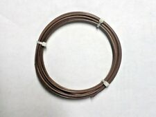 14 Awg Mil Spec Wire Brown Ptfe Stranded Silver Plated Copper 10 Ft