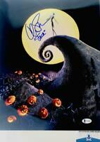 Chris Sarandon signed Jack Skellington 11X14 photo BAS COA WAO4889