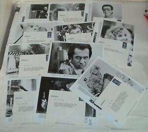 1984 RUNAWAY LOT of 11 PROMO MOVIE PHOTOS TOM SELLECK GENE SIMMONS of KISS