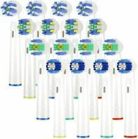 16 Testine di ricambio per spazzolino elettrico compatibile con Oral-B Braun