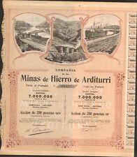 DECO => Minas de HIERRO de ARDITURRI (ESPAGNE) (M)
